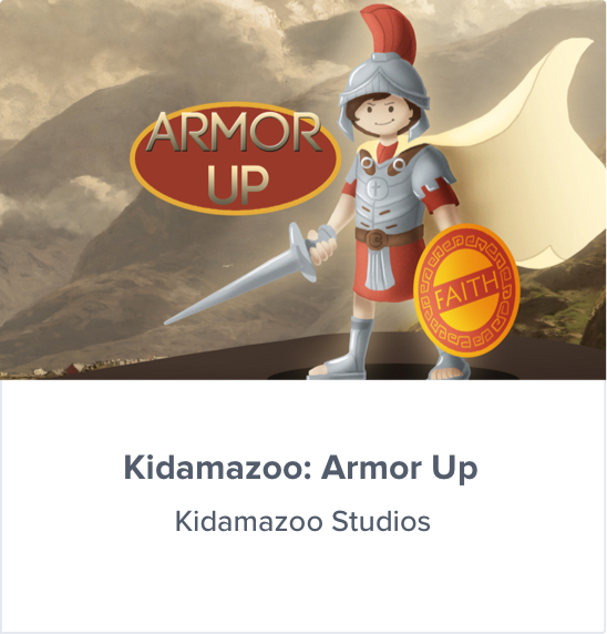 Kidamazoo Armor Up curriculum