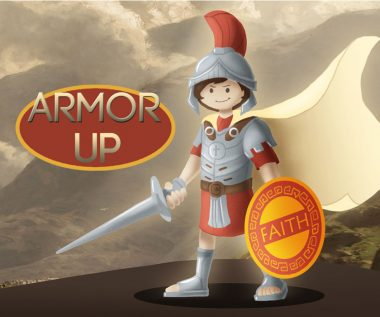 Free Sunday school lessons for kids: Kidamazoo Armor Up