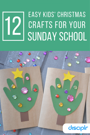 12 easy kids' Christmas crafts for Sunday School