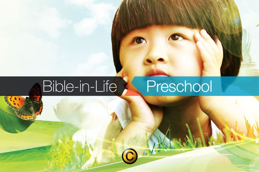 Free Sunday school lessons for kids: Bible-in-Life Preschool