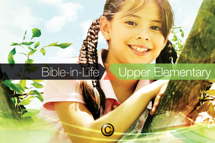 Free Sunday school lessons for kids: Bible-in-Life upper elementary