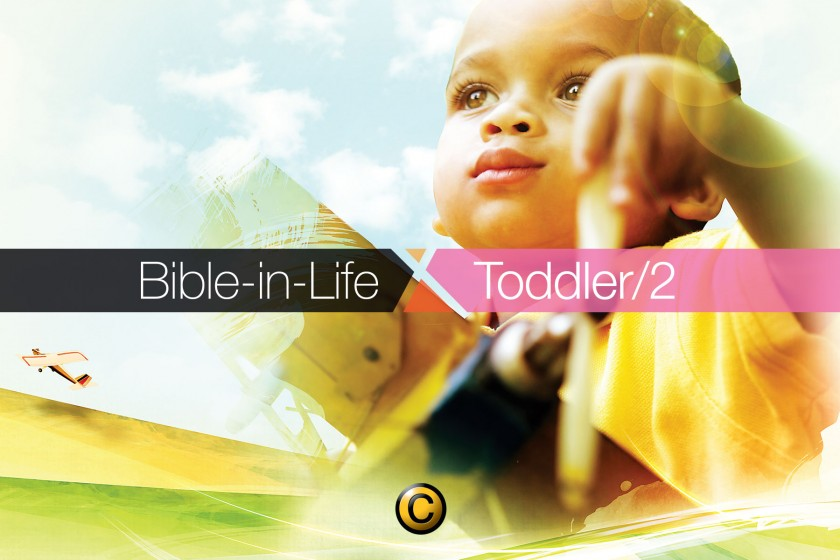Free Sunday school lessons for kids: Bible-in-Life Toddler