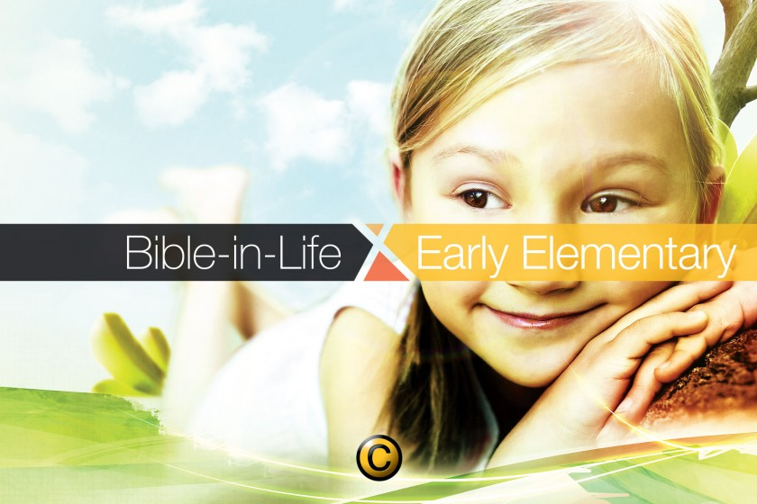 Free Sunday school lessons for kids: Bible-in-Life elementary