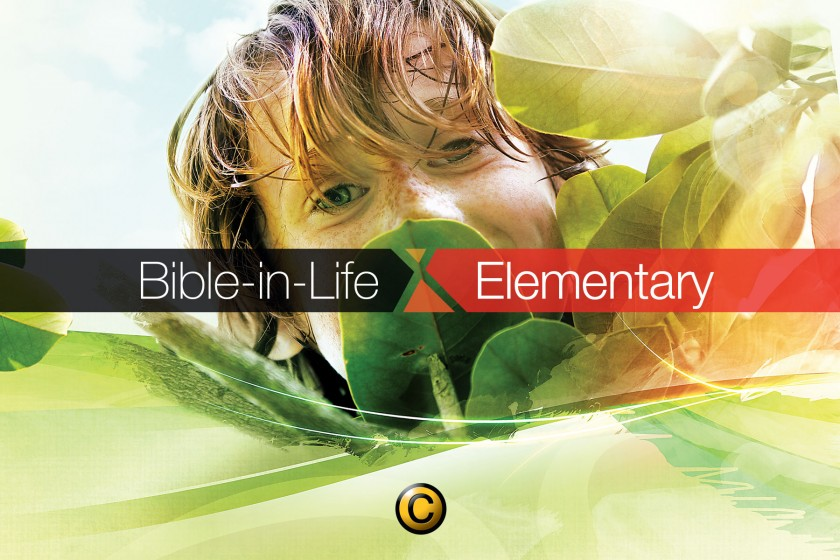 Free Sunday school lessons for kids: Bible-in-Life 2nd-3rd grade