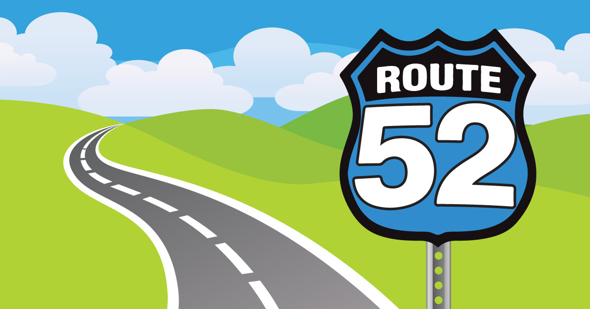 Route 52 sunday school curriculum review for 52 time table